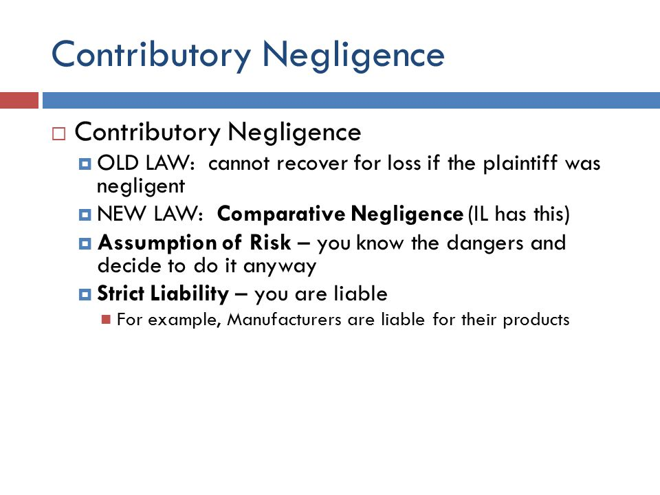 negligence and tort law