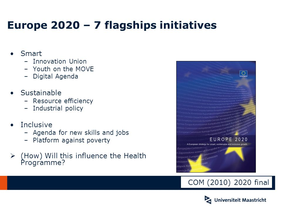 Europe 2020 – 7 flagships initiatives
