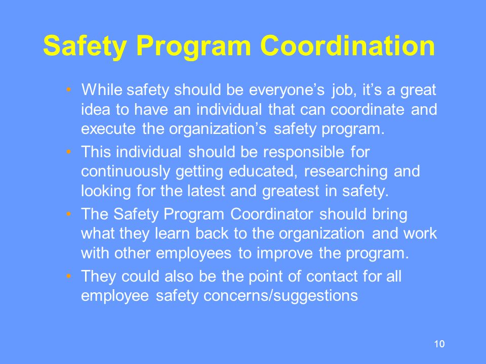 project paper effectiveness safety and health program Guide to workplace health & safety programs  effectiveness of the program  putting your company safety policy on paper.