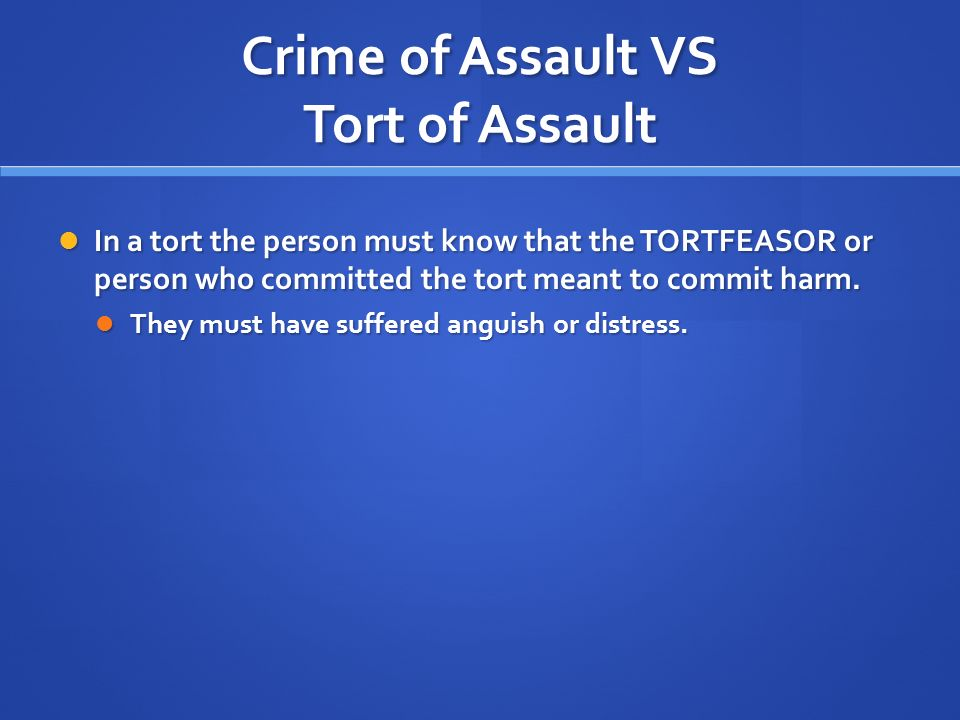 "law of tort assault Intentional torts, including assault and battery eign immunity of the united states from suits in tort"" or law enforcement officers of the united states gov."
