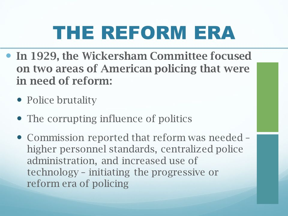 wickersham commission police corruption today The wickersham commission identified what problems of policing a police brutality and corruption b police brutality and over work c over work and corruption d corruption and poor.