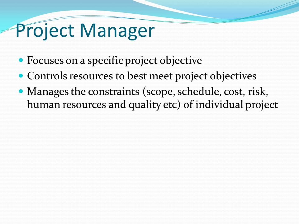 Fundamentals of project management ppt video online download - Project management office objectives ...