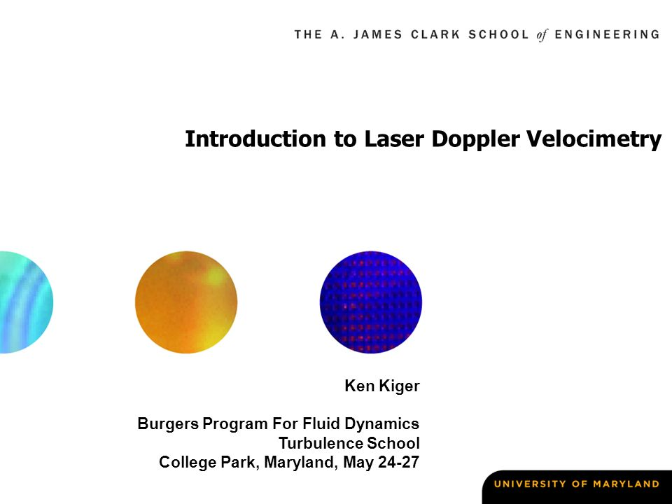 laser doppler anemometry essay Particle image velocimetry (piv) is a nonintrusive measurement that utilizes a   by using particles that will absord the laser light and emit light at a  then  explain in summary form what was done to achieve the objectives.