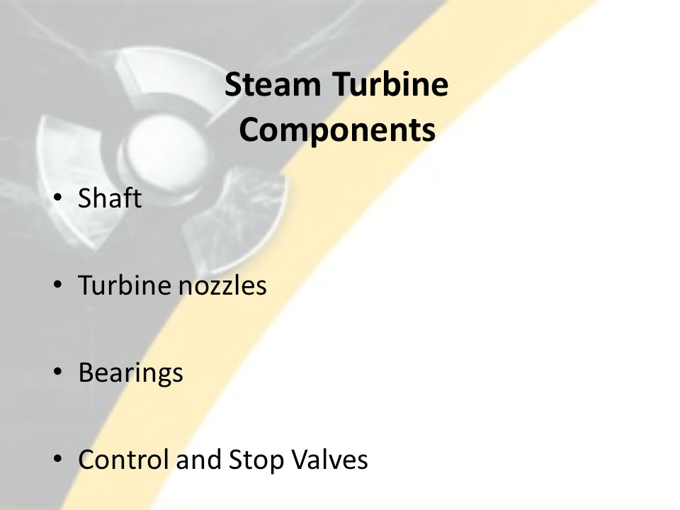 Steam Turbine Components