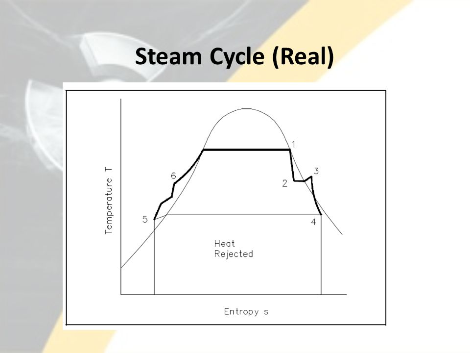 Steam Cycle (Real)