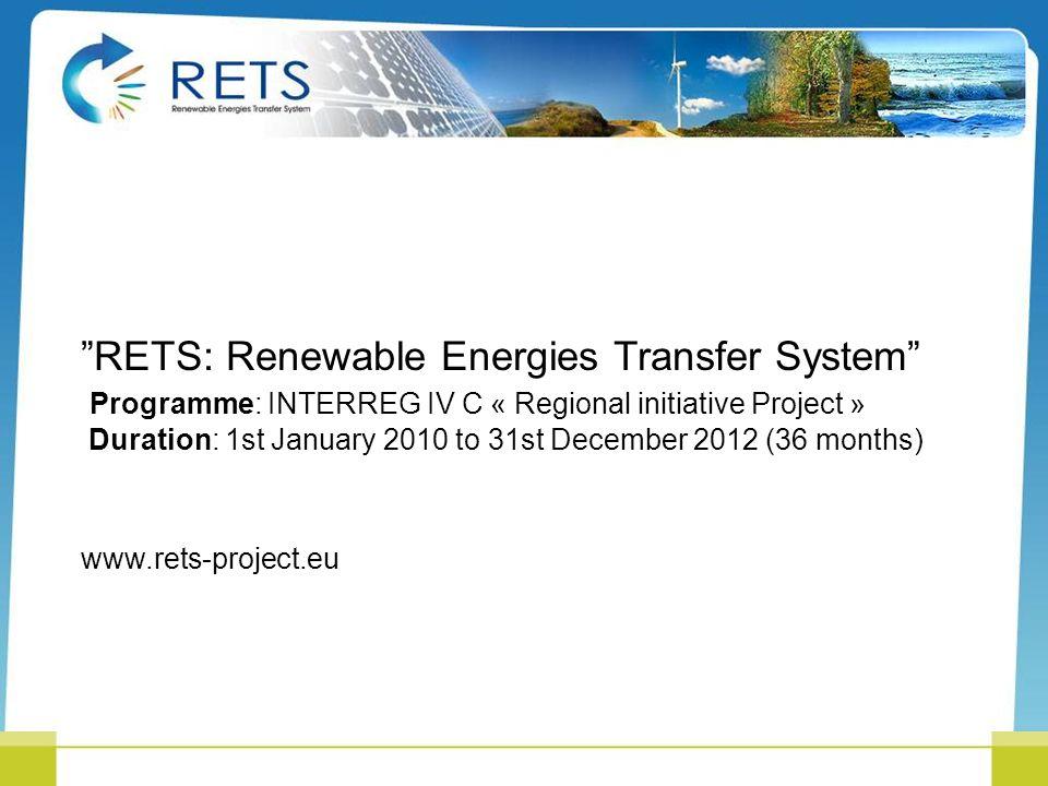 RETS: Renewable Energies Transfer System