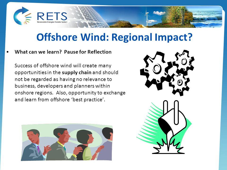 Offshore Wind: Regional Impact