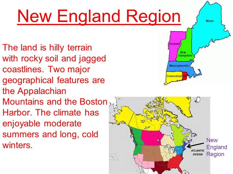 an introduction to the new england and the chesapeake region The economy of the chesapeake bay region well known in england religious persecution caused many people to leave their homeland and try to settle in the new.