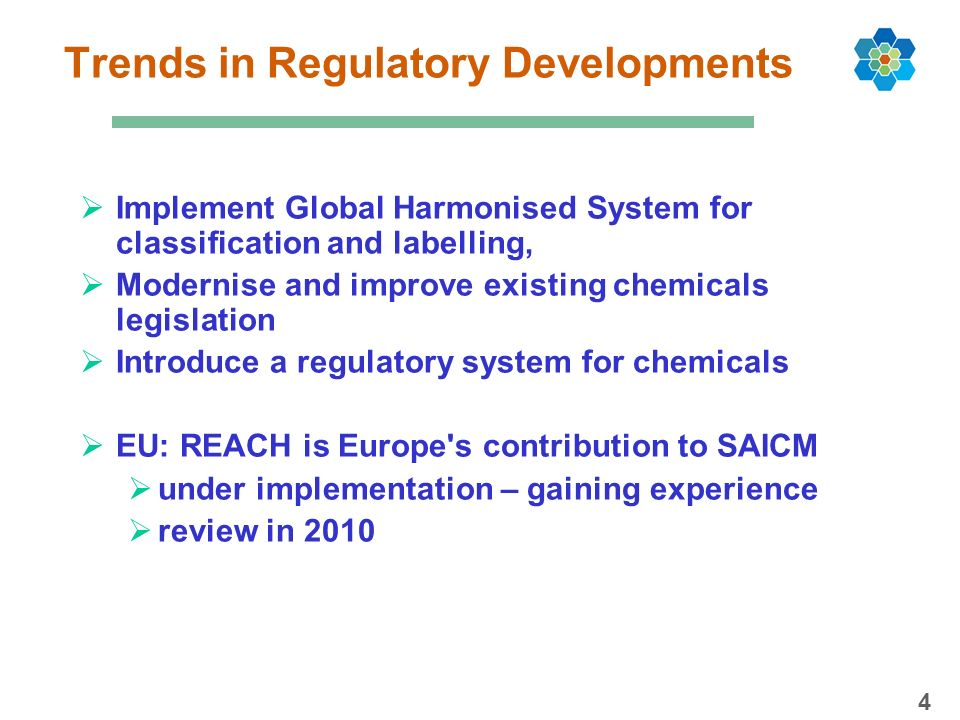 Trends in Regulatory Developments