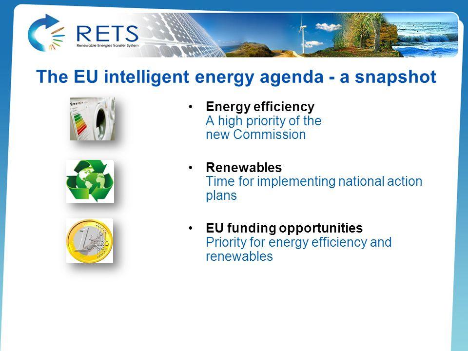 The EU intelligent energy agenda - a snapshot