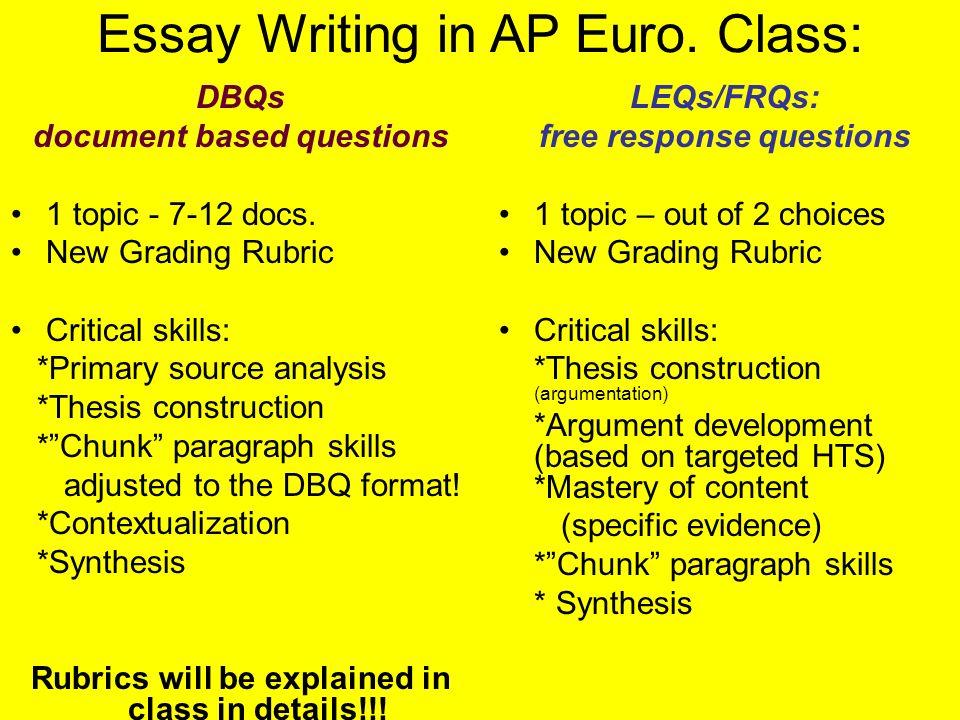 ap european history  - how to  u201cslay the beast    u201d