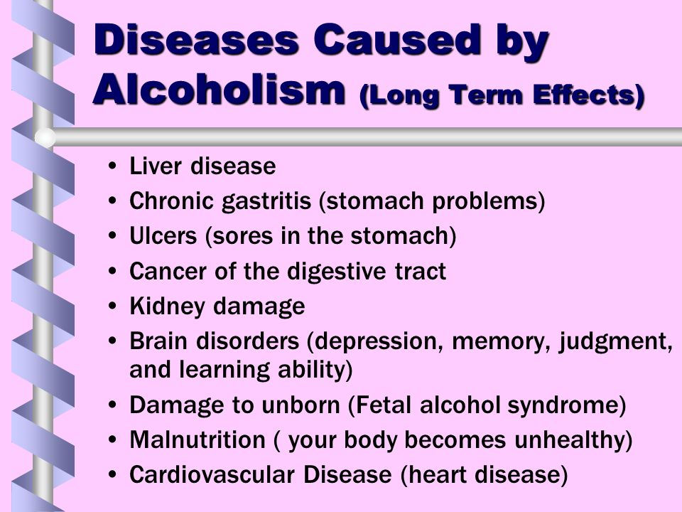 alcoholism a disease Research has shown that alcoholism is a choice, not a disease, and stripping alcohol abusers of their choice, by applying the disease concept, is a threat to the health of the individual is the ama right.