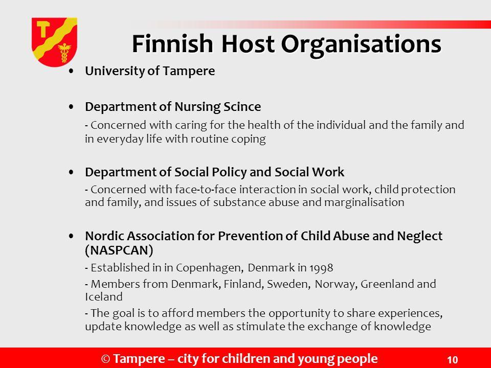 Finnish Host Organisations