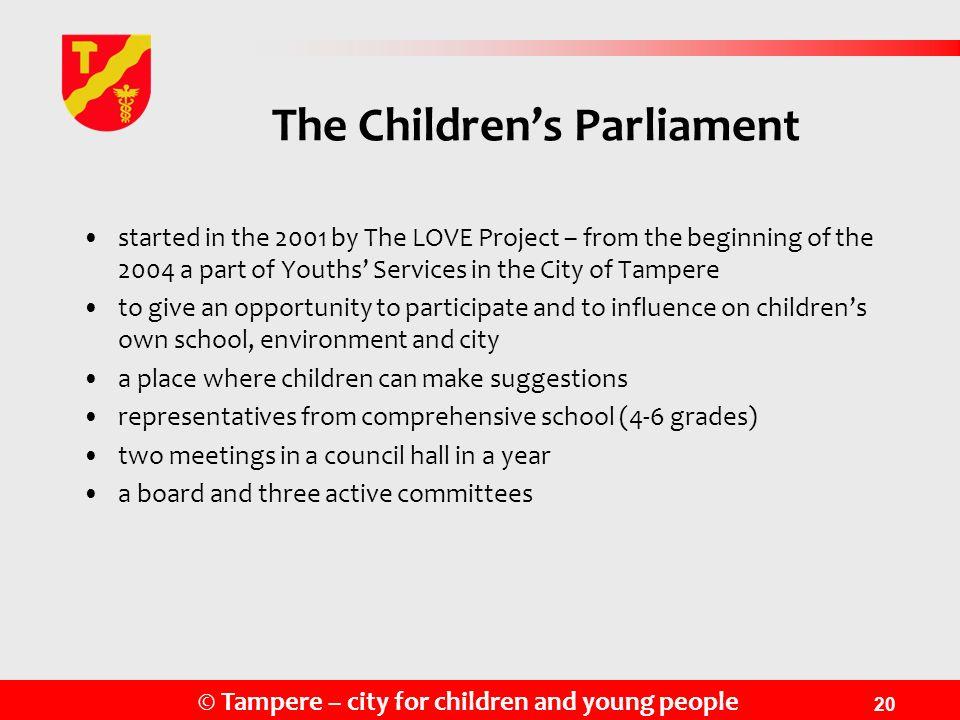 The Children's Parliament