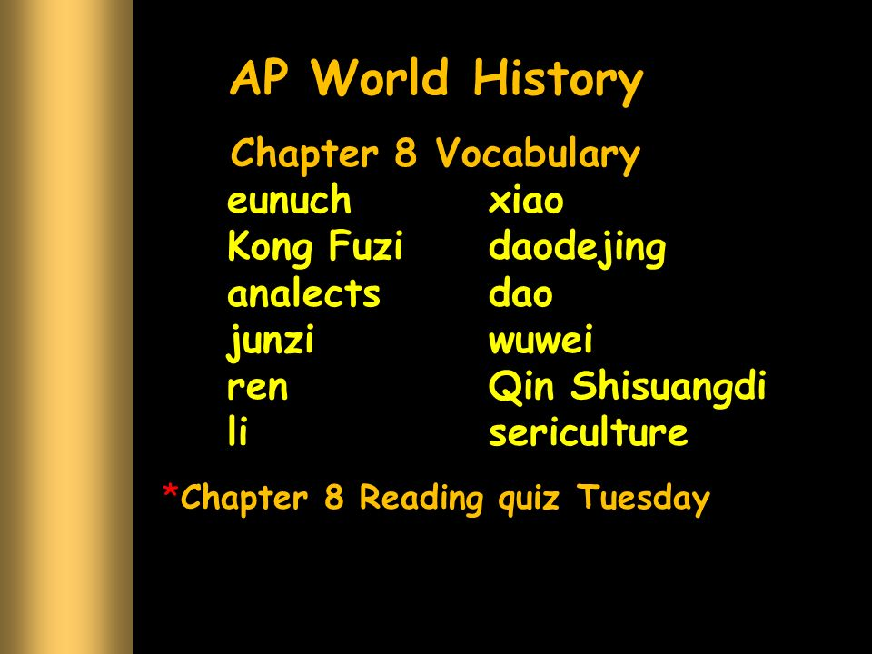 chapter 27 history quiz