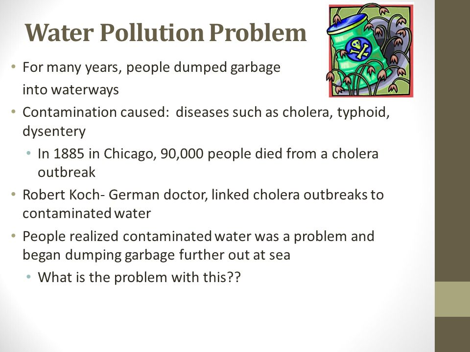problem statement about water pollution Preventing water pollution is always better than looking for solutions for the water pollution problem find out what you can do to prevent water pollution in you own.