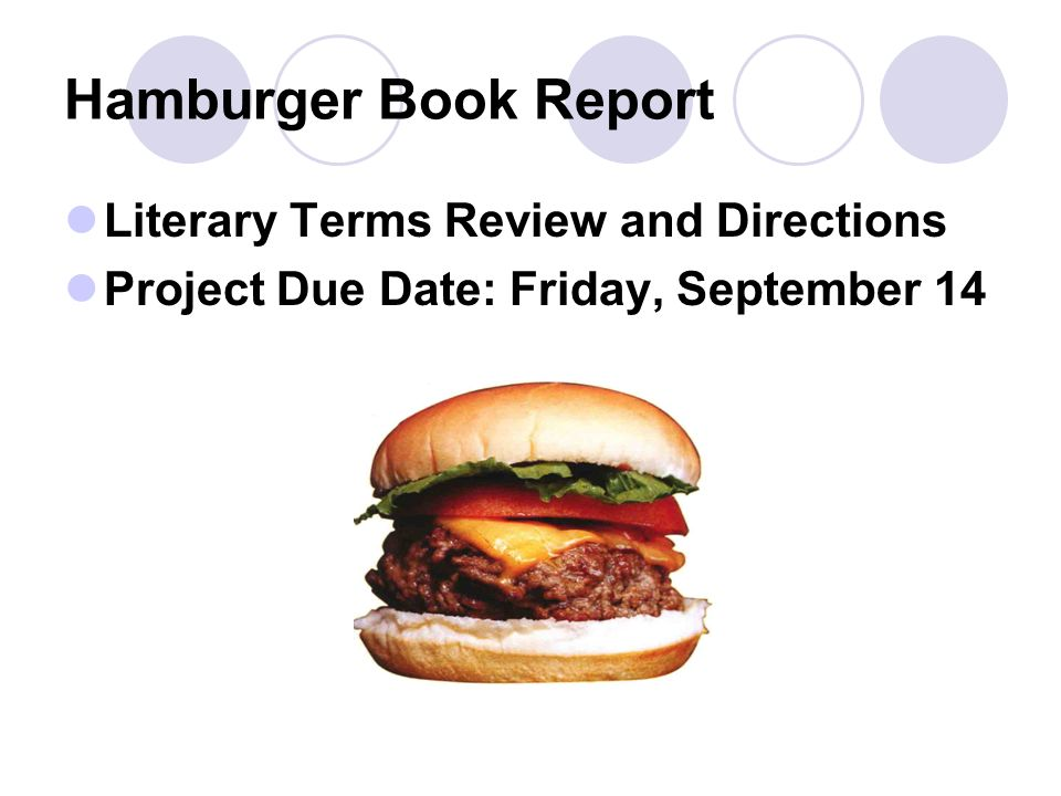 hamburger book report Download and read hamburger book report hamburger book report many people are trying to be smarter every day how's about you there are.