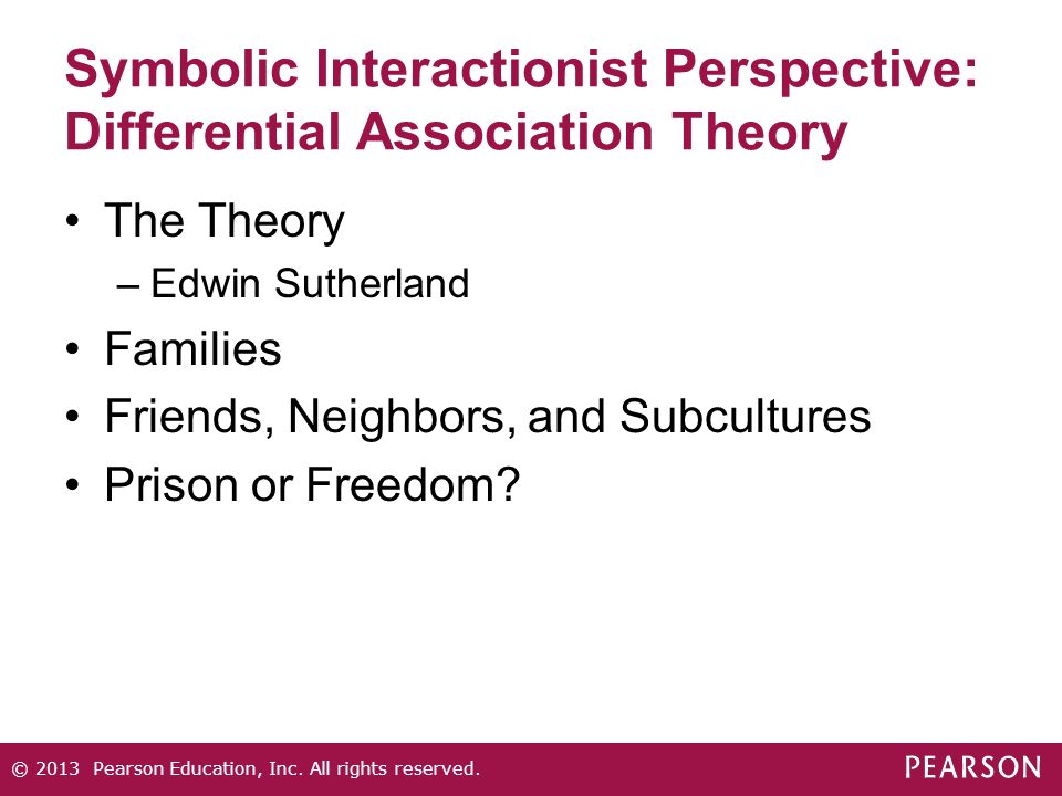 sociology differential association theory  definition of