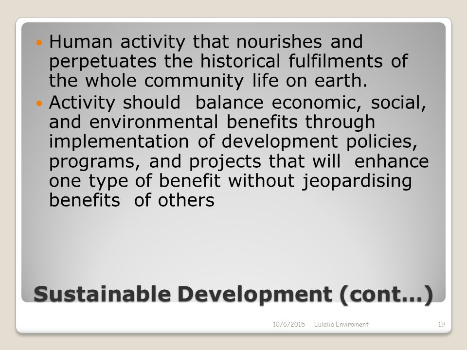 green development and its benefits on the environment 2016-2-20 why build green in the united states  a list of additional statistics on buildings and the environment (pdf) (7 pp,  potential benefits of green building can.