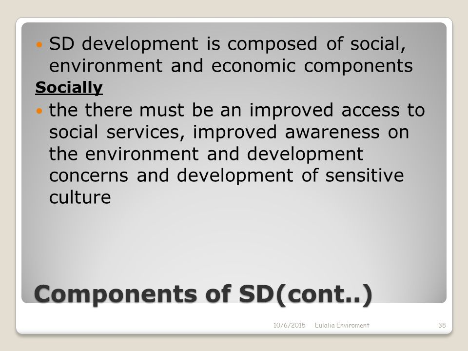 components of economic environment pdf