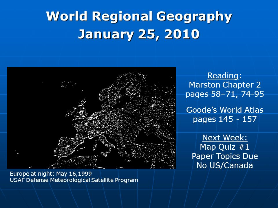 World regional geography ppt download world regional geography gumiabroncs Gallery