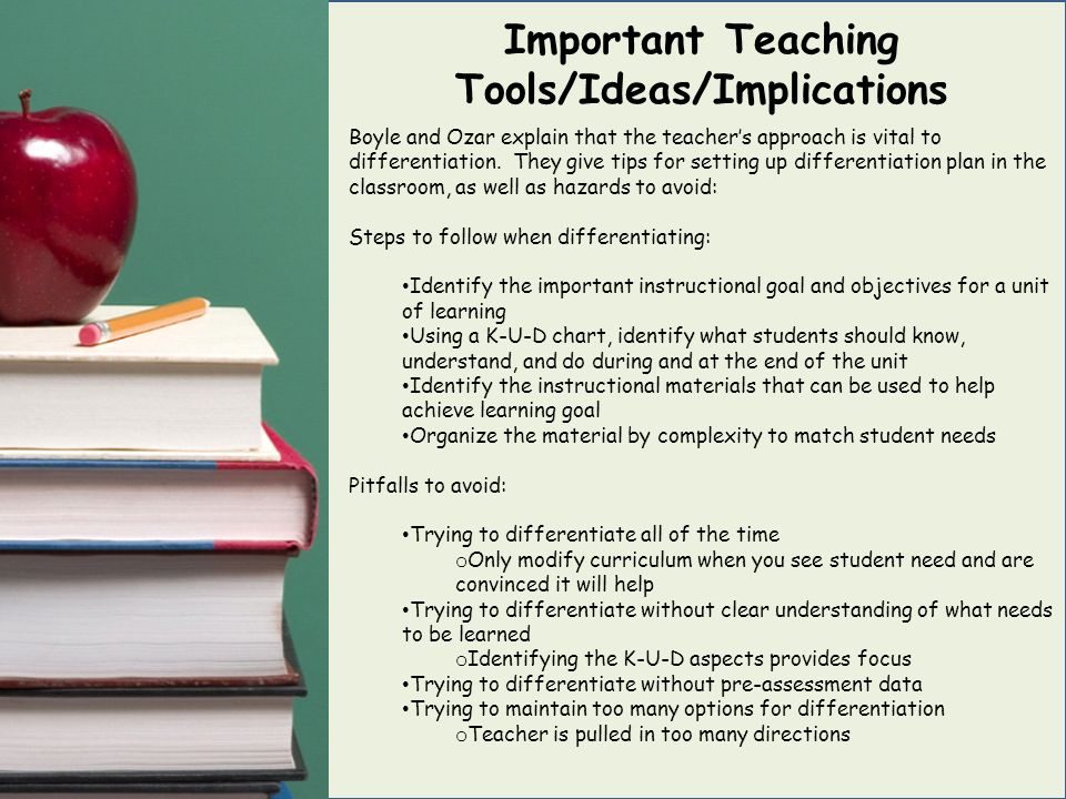 teaching is important