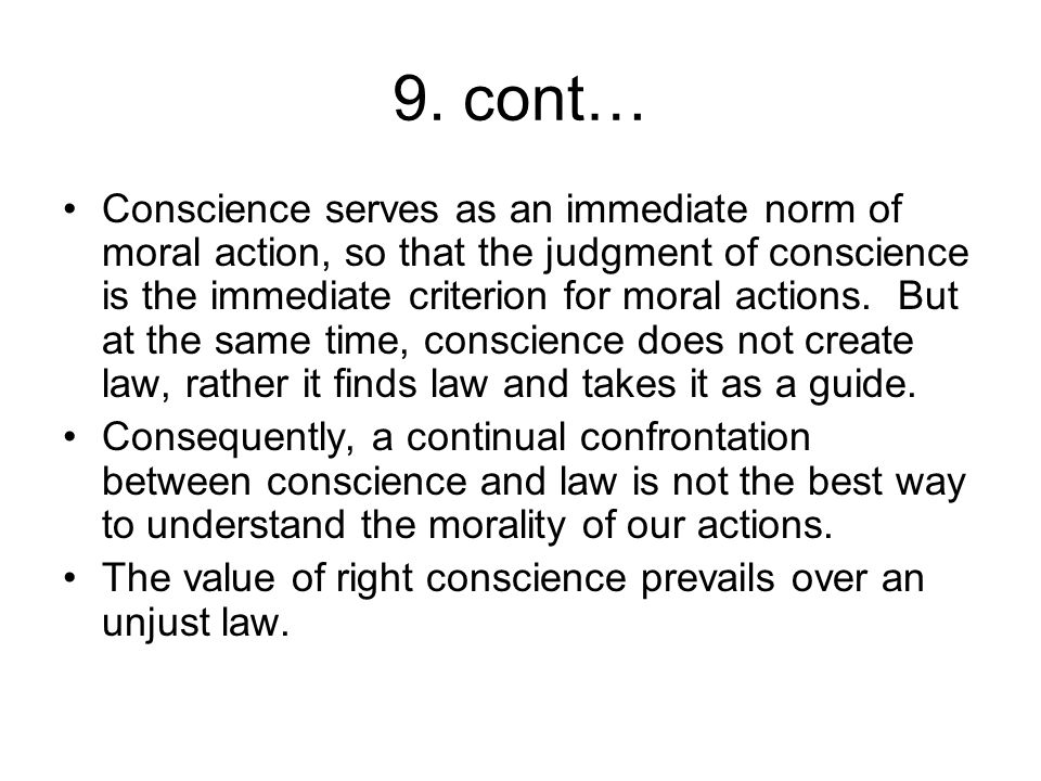 the conflict between obedience to authority and personal conscience In 1974 a book by the title obedience to authority was  the conflict between conscience and authority inheres in the very  highly personal moral.
