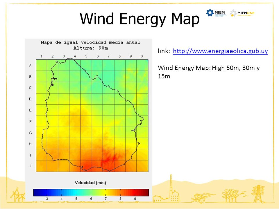 Wind Energy Map link: