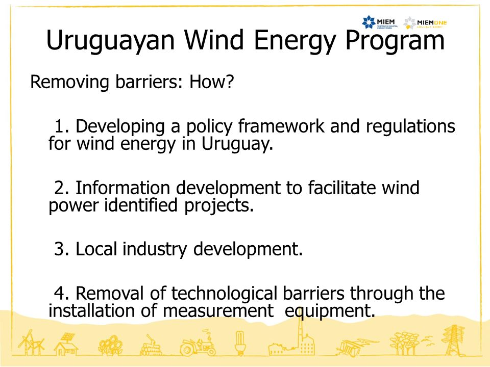 Uruguayan Wind Energy Program