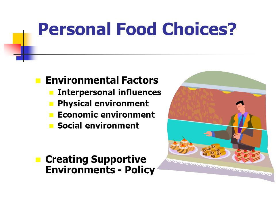 Marketing Influence On Food Choices