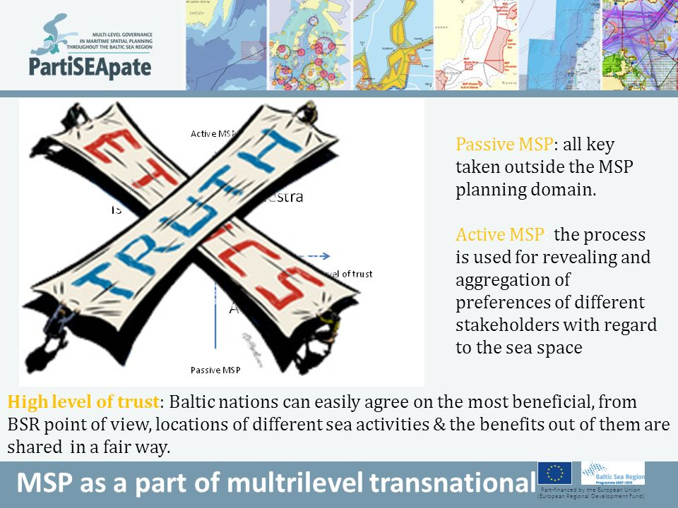 MSP as a part of multrilevel transnational