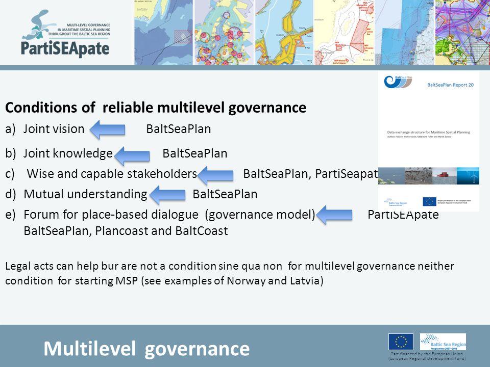 Multilevel governance