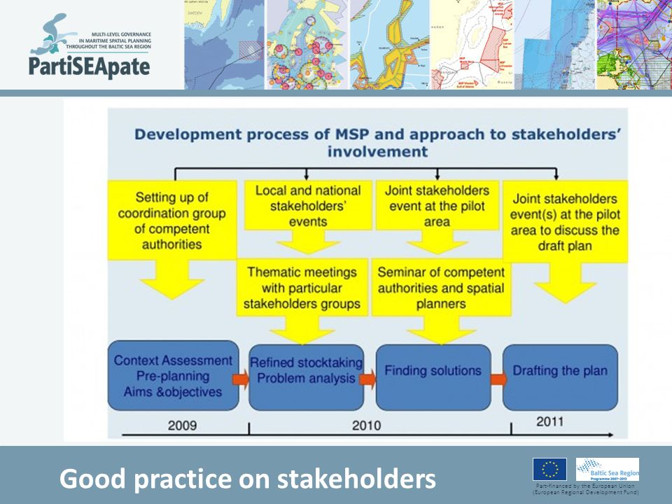 Good practice on stakeholders