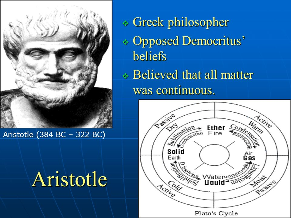 aristotle s beliefs In terms of his ethics aristotle believed in the excellence of philosophical  contemplation and virtuous actions stemming from virtuous persons (ie virtuous .