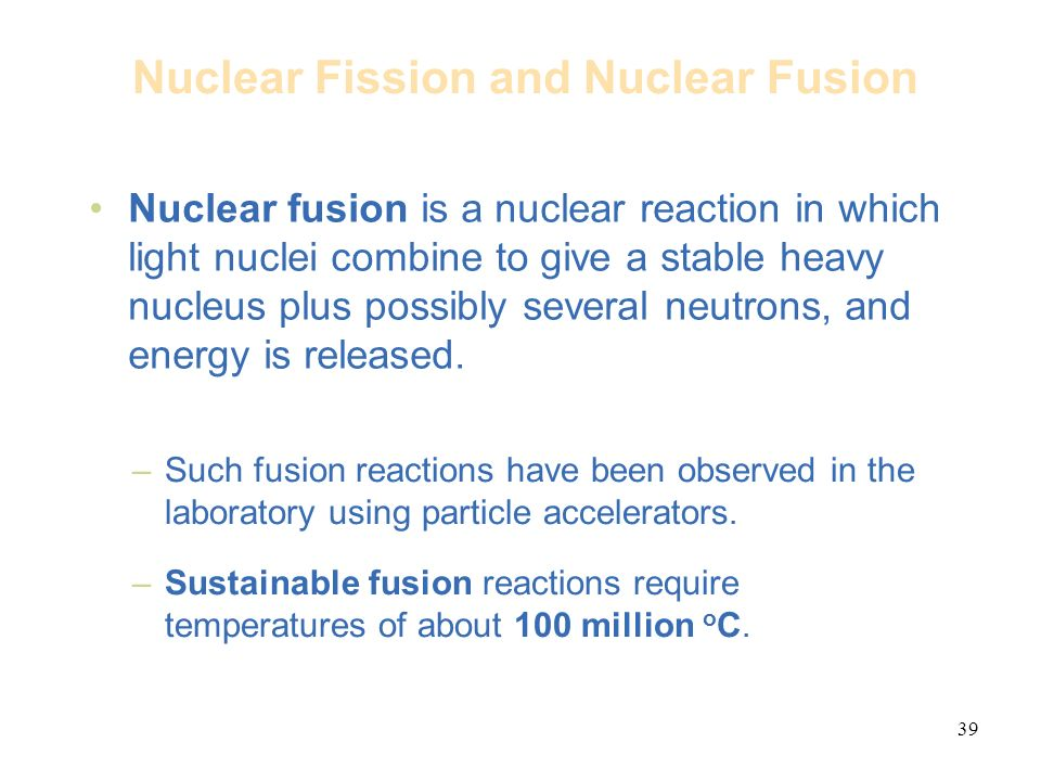 an analysis of nuclear fusion in chemistry View homework help - chemistry unit 6-3 from chemistry 128 at southern university at new orleans unit activity chemistry unit 6: nuclear chemistry and biochemistry.