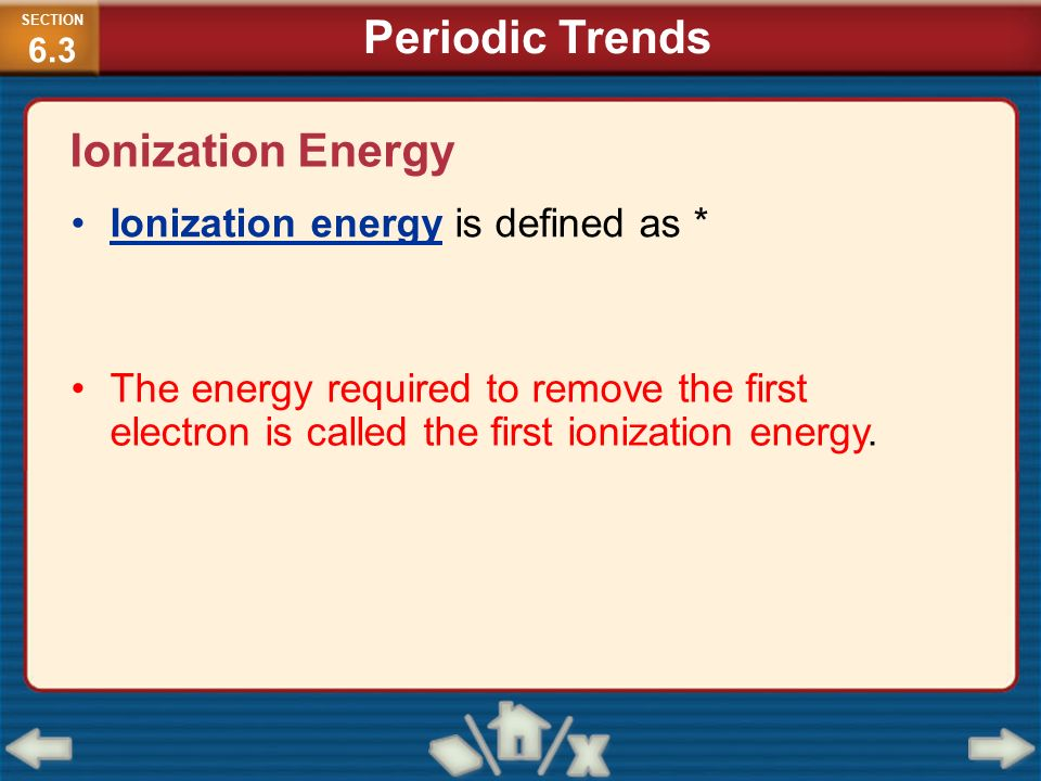 Periodic table ionization energy periodic table definition periodic table ionization energy periodic table definition chemistry matter and change ppt video online urtaz Image collections
