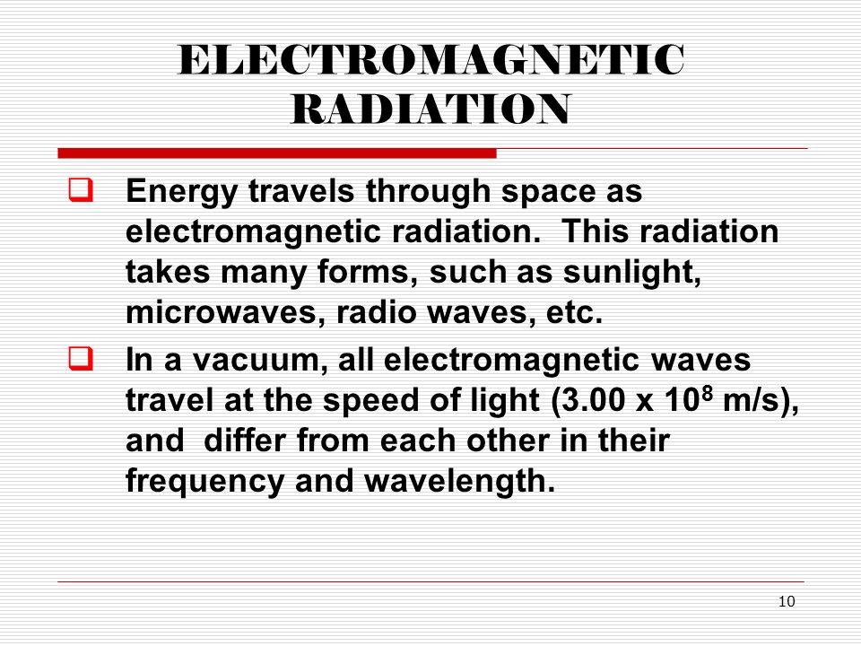 Massachusetts How Do Electromagnetic Waves Travel