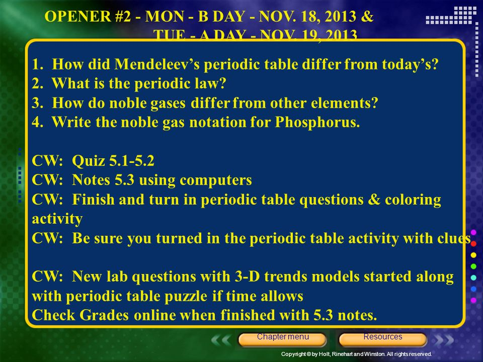 Major part for ch 5 chapter menu resources ppt download 5 opener urtaz Gallery