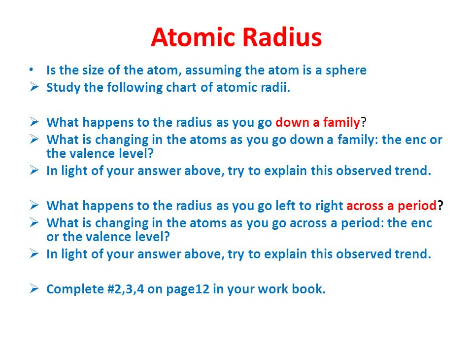 Periodic trends feb ppt video online download 6 atomic urtaz Images