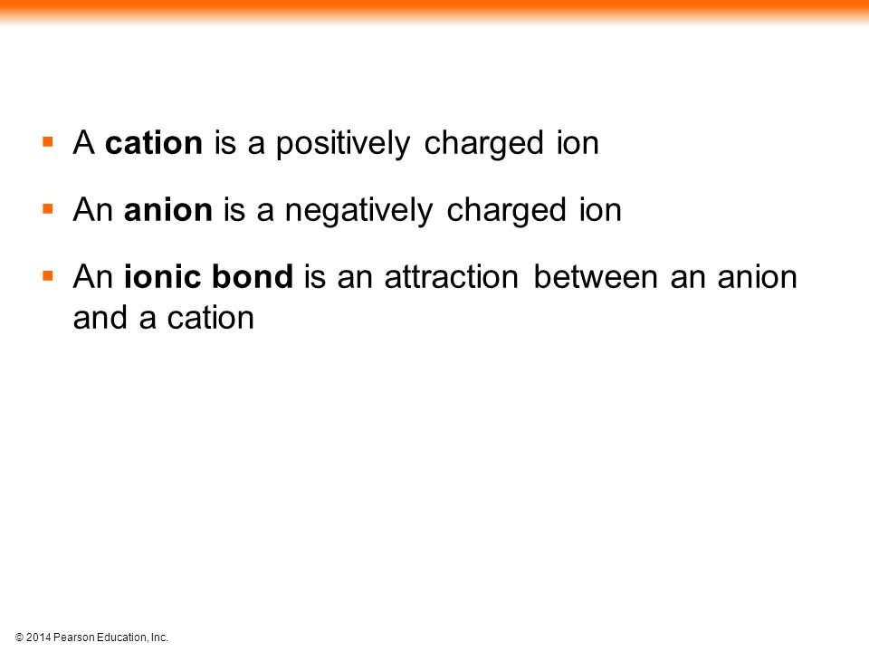 A cation is a positively charged ion