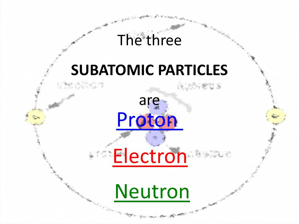 subatomic particles of an atom pdf