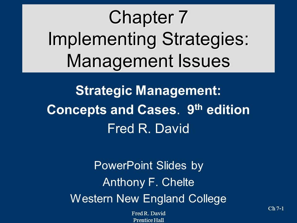 strategic management 9 essay Learn strategic management chapter 9 with free interactive flashcards choose from 500 different sets of strategic management chapter 9 flashcards on quizlet.