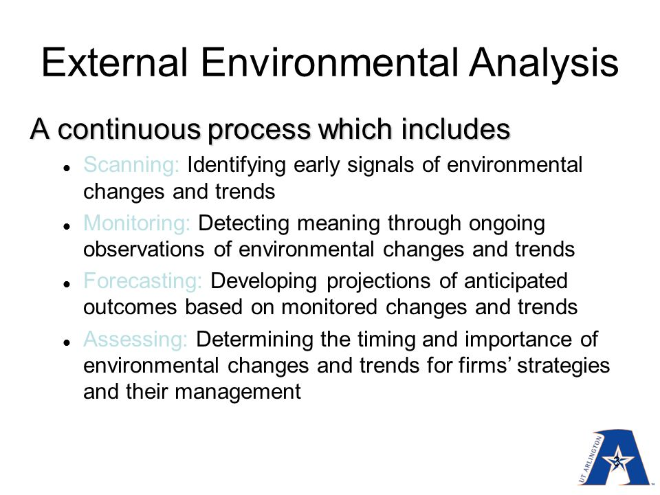 bank of america external environment analysis Bank of america merrill lynch, a bank of america merrill lynch discusses the challenges and benefits of it is important to consider internal and external.