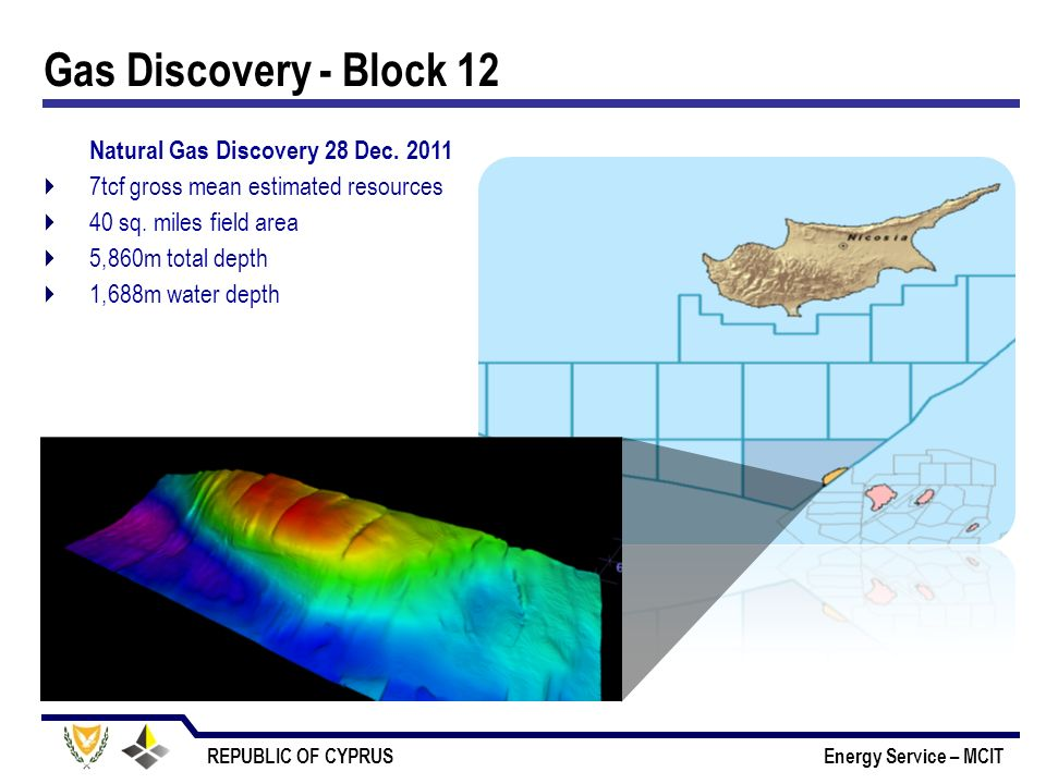 Gas Discovery - Block 12 Natural Gas Discovery 28 Dec. 2011