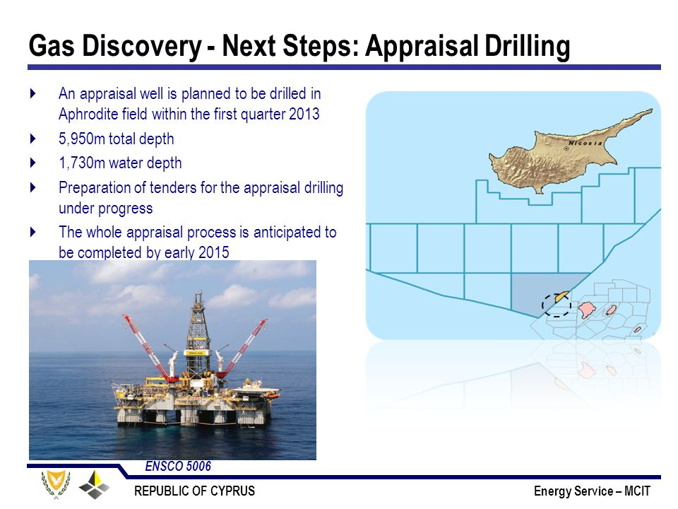 Gas Discovery - Next Steps: Appraisal Drilling