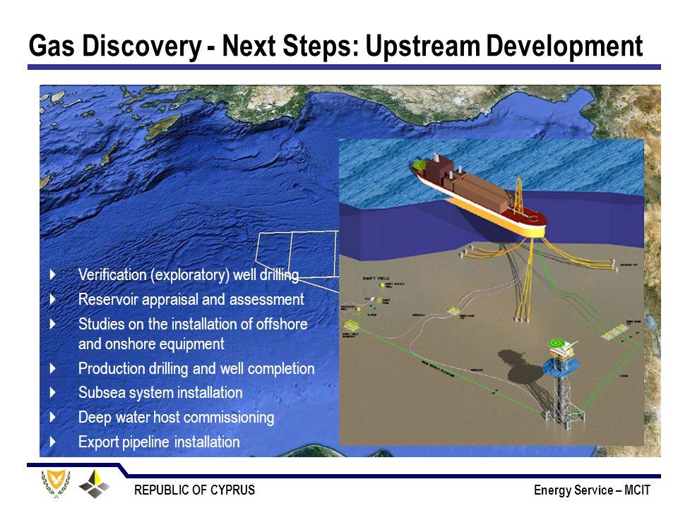 Gas Discovery - Next Steps: Upstream Development