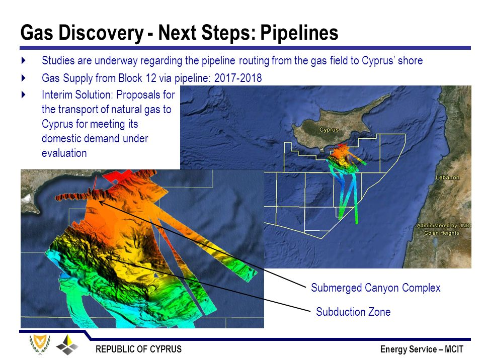 Gas Discovery - Next Steps: Pipelines