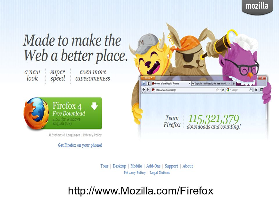 Besides Internet Explorer, two other viable browser options are Mozilla Firefox and Google Chrome that was released in September 2008.