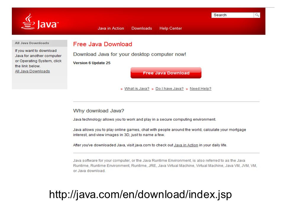 http://java.com/en/download/index.jsp