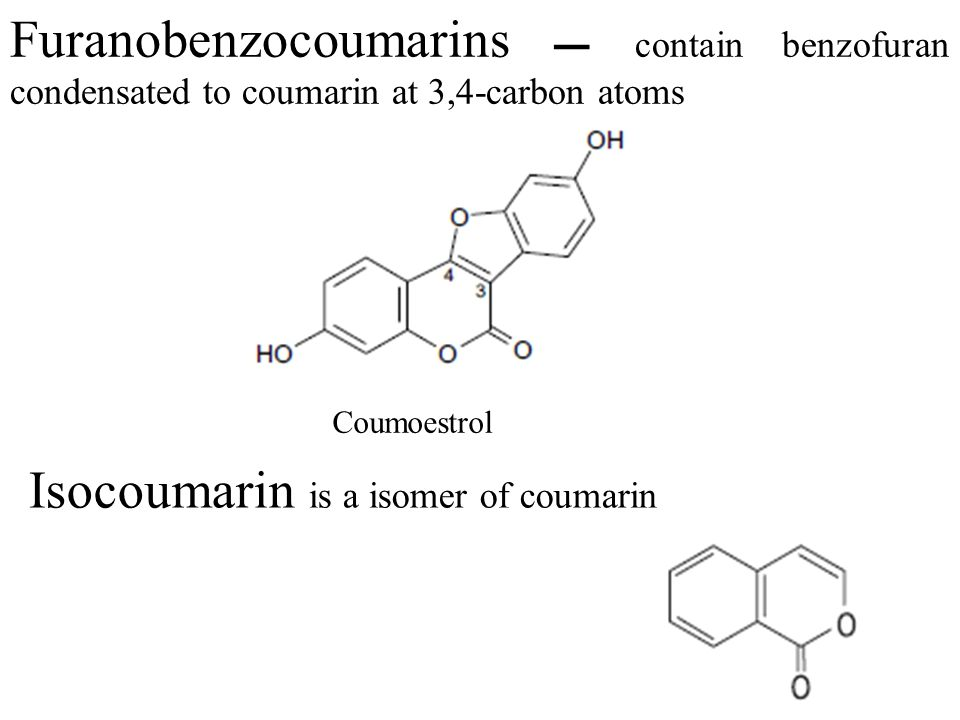 Isocoumarin is a isomer of coumarin